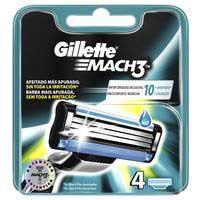 Gillette Cargador mach3 4uds