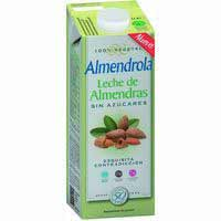Almendrola Leche almendras sin azúcar 1l