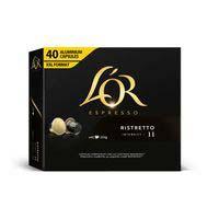 L'Or Café ristretto 40 cápsulas
