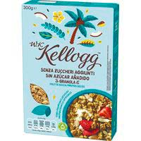Kellogg's Cereales Wik granola sin azúcar con frutos secos 300g