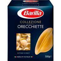 Pasta Orecchiette Colezione BARILLA, caja 500 g