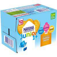 Nestlé Leche Junior galleta 1+ 6x200ml