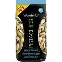 Wonderful Pistachos sin sal 220g