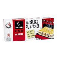 Lasaña directa al horno GALLO, caja 224 g