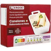 Eroski Canelons precuits