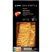 Fettuccine all'uovo Eroski SELEQTIA, paquete 250 g