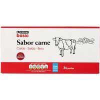 Eroski Basic Caldo carne 24 pastillas