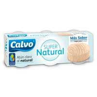 Calvo Atún super natural 3x65g
