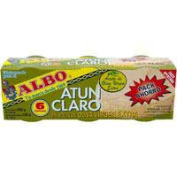 Albo Atún aceite de oliva virgen 6x65g