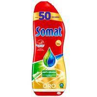 Somat Lavavajillas máquina gel antigrasa 50d