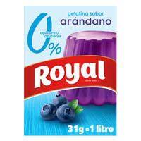 Gelatina nabius 10 Kcal ROYAL, caixa 31 g