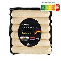 Eroski Seleqtia Salchicha bratwurst 6x90g