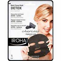 Iroha Nature Mascarilla facial detox carbón 1u