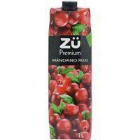 Zü Premium Concentrado arándano rojo 1l
