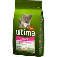 Alimento de pollo-arroz gato junior 2-12 m. ULTIMA, saco 1,5 kg