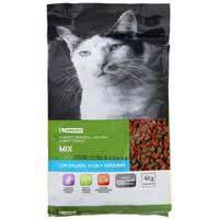Eroski Comida de gato mix salmón/atún 4kg
