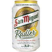 San Miguel Cerveza radler 0,33l