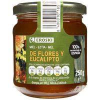 Eroski Miel de flores y eucalipto 250g