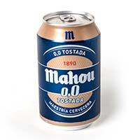 Cervesa 0,0 torradaMAHOU, llauna 33cl