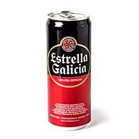 Cervesa especial ESTRELLA GALÍCIA, llauna 33cl