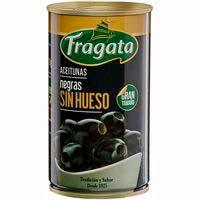 Olives negres sense os FRAGATA, llauna 150 g
