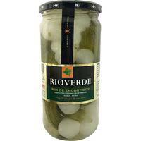 Mixde cogombrets-cebes tendresRIOVERDE, flascó 380 g