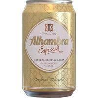 Cervesa EspecialALHAMBRA, llauna 33cl