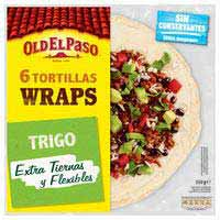 Old El Paso Tortillas wraps 350g