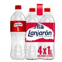 Aigua mineral naturalLANJARON, ampolla 1 litre