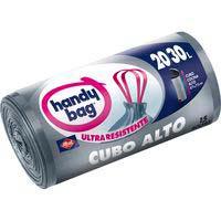 Bossa d'escombraries per a galleda alta 30 l.HANDYBAG, paquet 15 un..