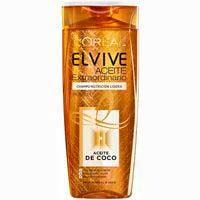Champú aceite de coco extra ELVIVE, bote 370 ml