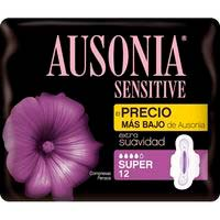Compresa sensitive super AUSONIA, paquet 12 u.