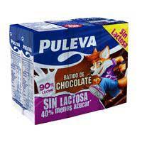 Batut cacao sense lactosa PULEVA 6x200ml