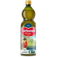 Aceite de oliva virgen extra picual CARBONELL, botella 1 litro