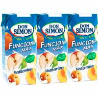 Lacto suc funciona gust Mediterrani DON SIMON, pack 3x330 ml