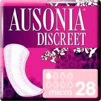 Compresa micro AUSONIA Discreet, paquete 28 uds.