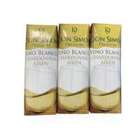 Vino Blanco Chardonnay DON SIMON, pack 3x25 cl