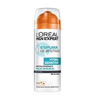 Men Expert Escuma afaitar sensible 200ml