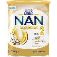 Leche de continuación NAN SUPREME 2, lata 800 g