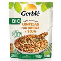 Gerblé Bio Lentejas con arroz y soja 250g