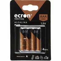 Ecron Pila AAA LR03 4u
