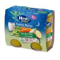 Potet de verdura amb pasta HERO Bona nit,pack2x190g