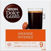 Café grande intenso NESCAFÉ Dolce Gusto, caja 16 monodosis