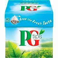 TeaPGTIPS, caixa 40 sobres