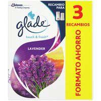 Glade Ambientador un toc lavanda recanvi 2 + 1
