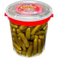 Cogombrets en vinagre SARASA, flascó 400 g