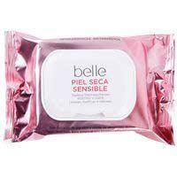 Belle Toallitas desmaquillantes piel seca 25u