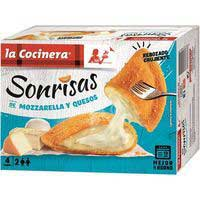 La Cocinera Somriures de formatge 266g