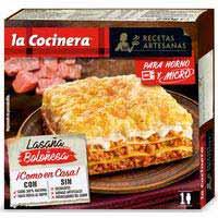 La Cocinera Lasaña boloñesa 250g