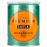 Cafè mòltpremiumecoSAULA, llauna 250 g